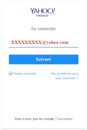 yahoo mail ouverture session