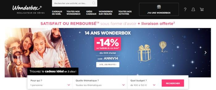 www wonderbox fr
