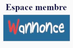 wannonce.com mon compte