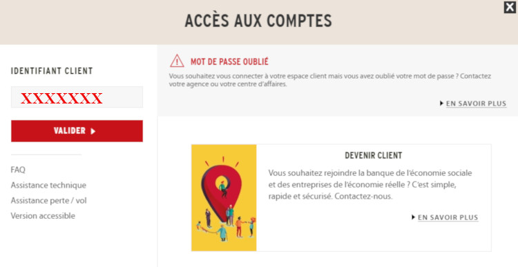 compte personnel coopanet credit cooperatif