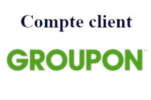 Groupon mon compte client