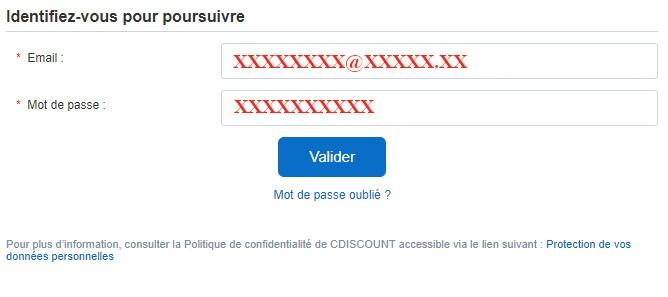 cdiscount espace client
