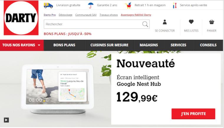 site darty.com