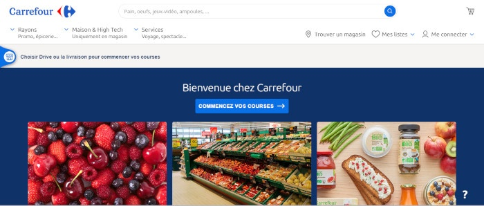 site officiel carrefour.fr