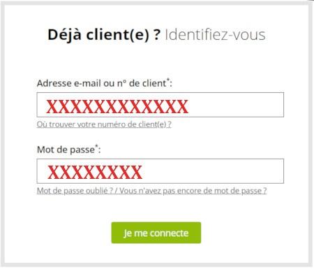 Se connecter à mon compte Becquet.fr