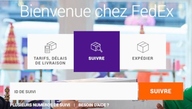 Fedex france suivi colis