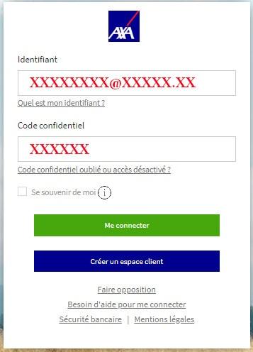 Se connecter à mon compte client Axa banque