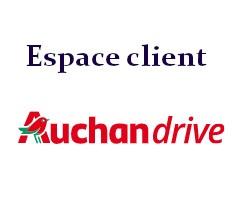auchan drive espace client